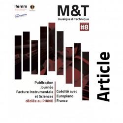 "BORRUTO, A.  : ""Un cadre de piano en matériau composite avec fibres de carbone"""