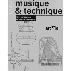 Vers une définition des contours de la filière instrumentale