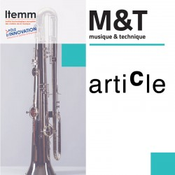 """Français/Anglais - BALOSSO-BARDIN, C. & al  : """"Une étude interdisciplinaire de la flûte Boehm conique de 1832"""""""