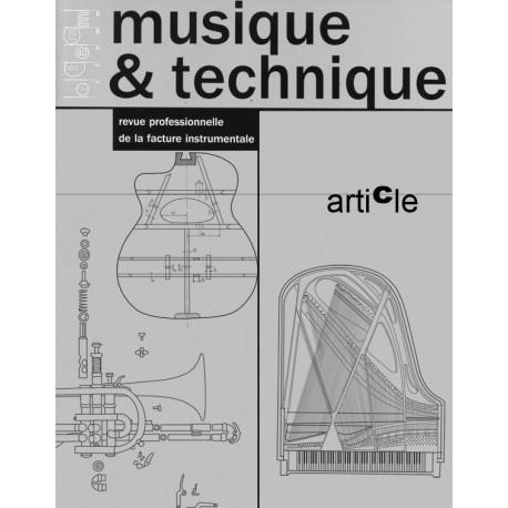 Qualité sonore des instruments de musique : premières réflexions